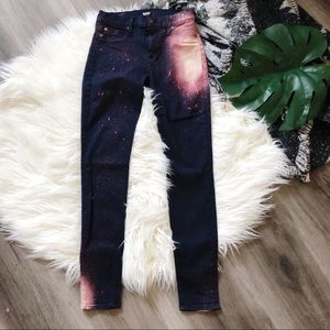 Hudson Nico Super Skinny Galaxy Jeans 26